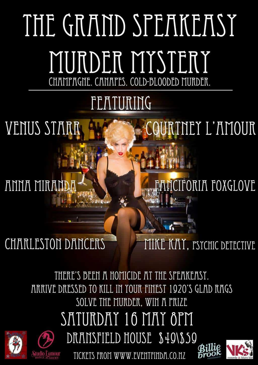 The Grand Speakeasy Murder Mystery