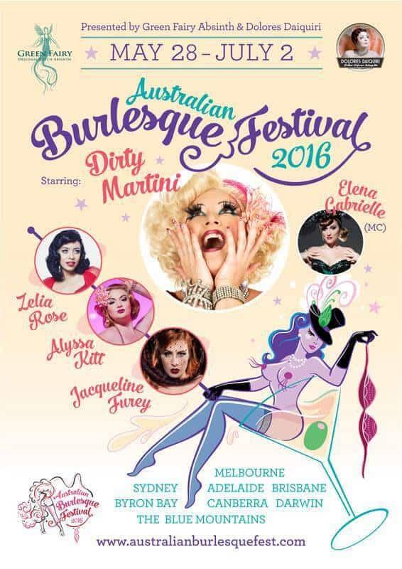 Australian Burlesque Festival 2016