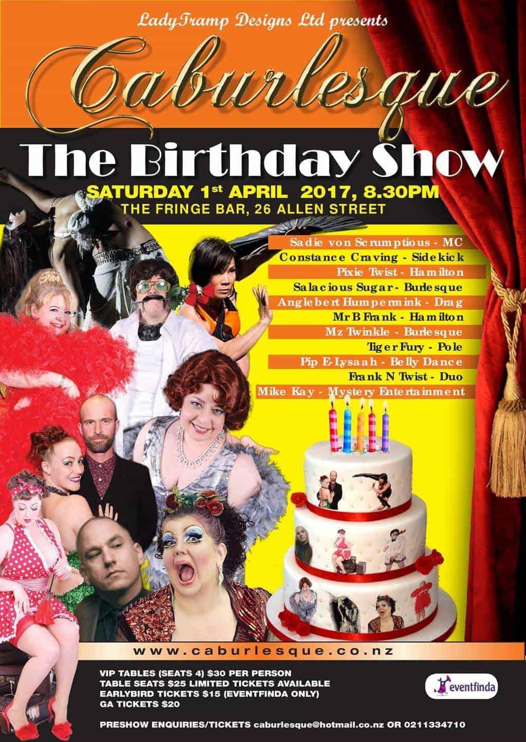 Caburlesque: The Birthday Show
