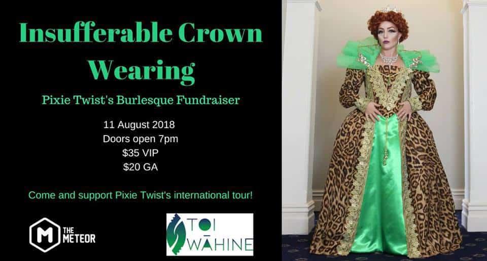 Insufferable Crown Wearing