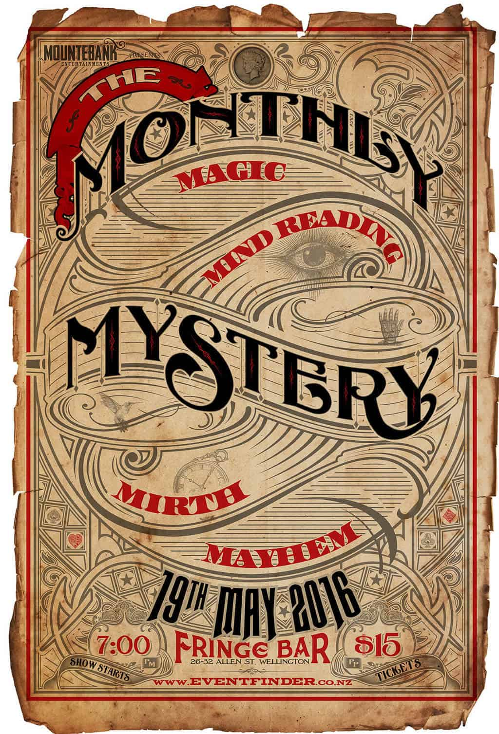 The Monthly Mystery May 2016