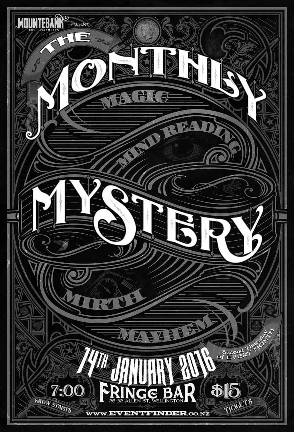 The Monthly Mystery January 2016