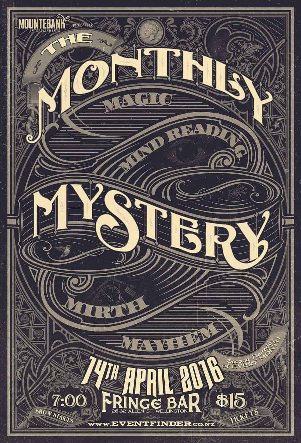 The Monthly Mystery April 2016