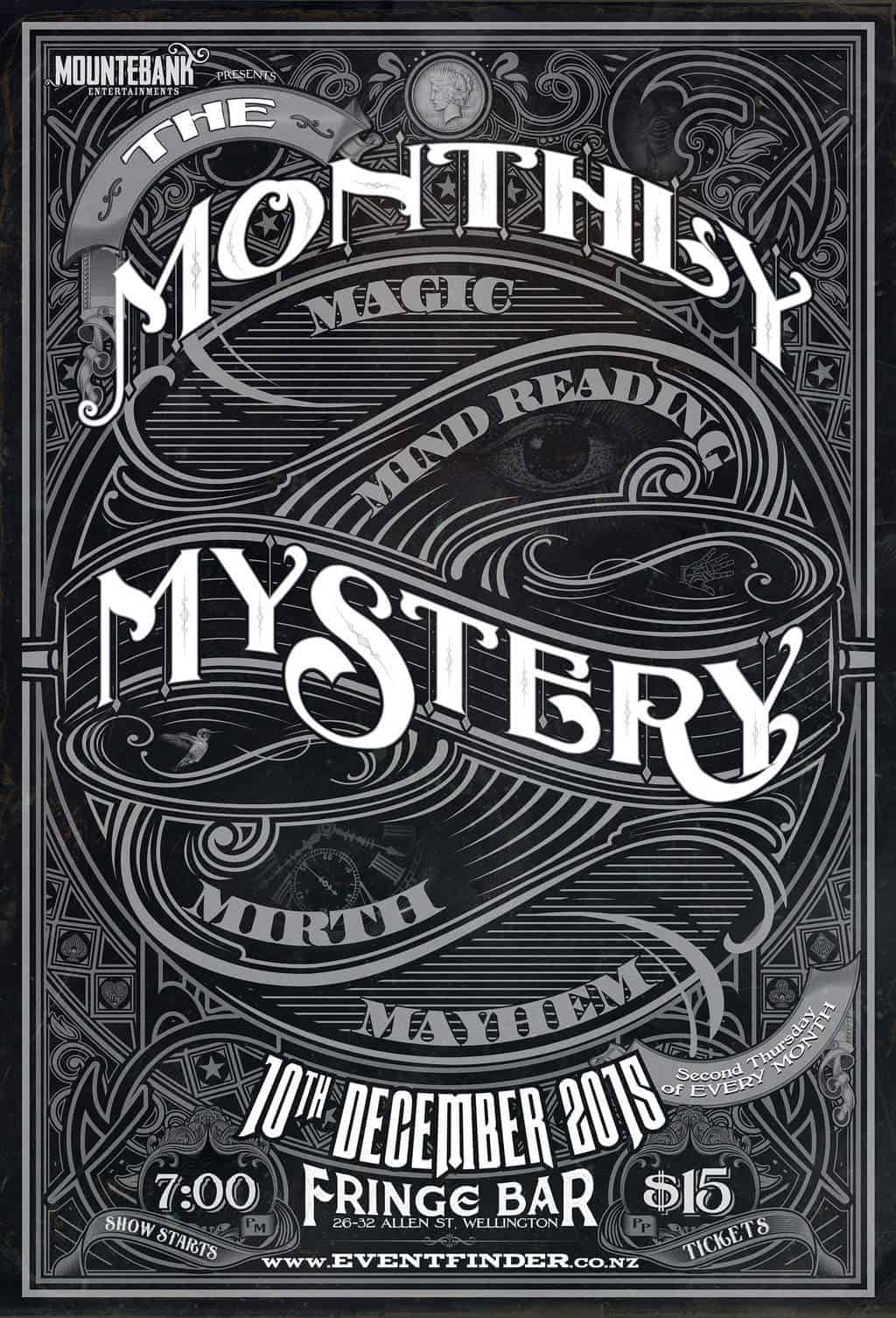 The Monthly Mystery December 2015