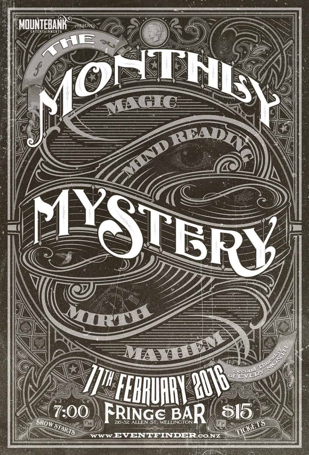 The Monthly Mystery February 2016