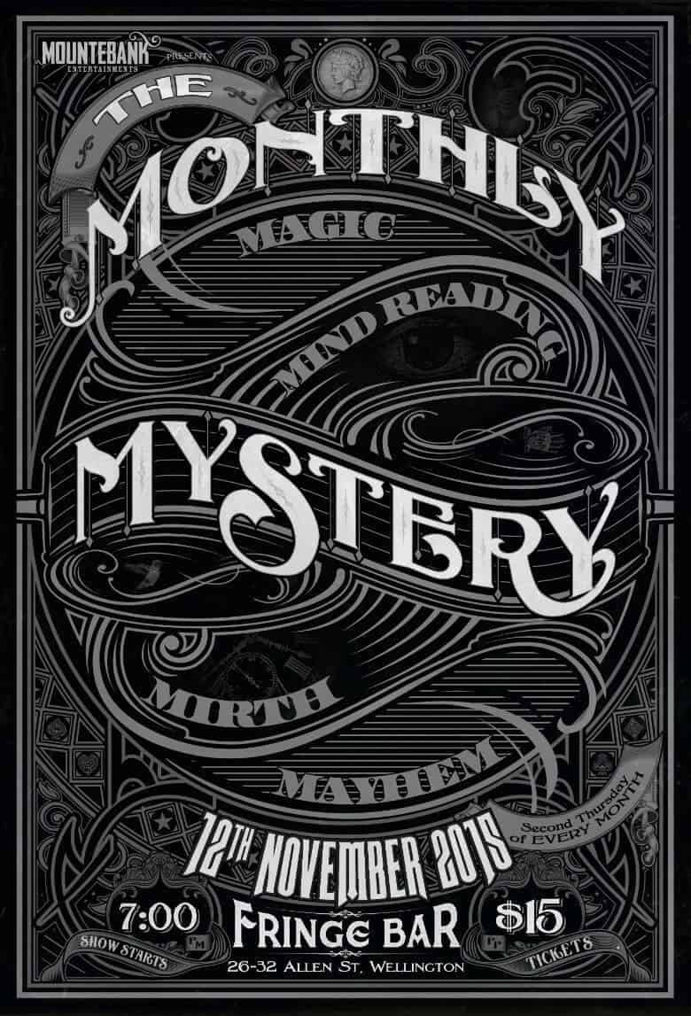 The Monthly Mystery November 2015